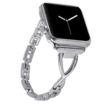 Amazon.com: Correa compatible para Apple Watch de 1.496 in ...
