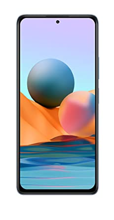 Redmi Note 10 Pro Max (Glacial Blue, 6GB RAM, 128GB Storage)