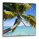 3dRose dpp_89668_3 Mokulua Islands, Lanikai Beach, Oahu, Hawaii - US12 DPB1006 - Douglas Peebles - Wall Clock, 15 by 15-Inch