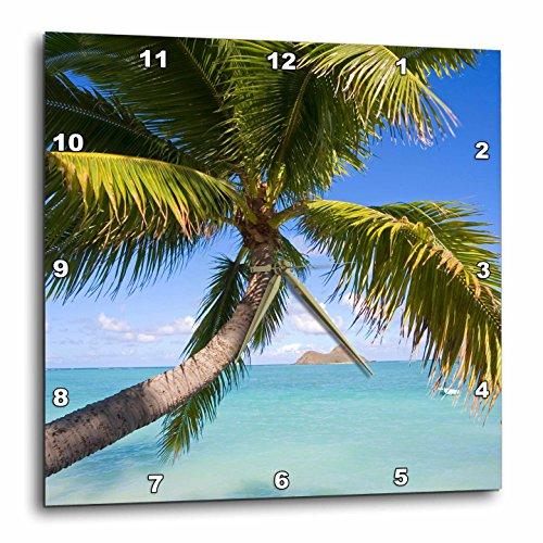 3dRose dpp_89668_3 Mokulua Islands, Lanikai Beach, Oahu, Hawaii - US12 DPB1006 - Douglas Peebles - Wall Clock, 15 by 15-Inch by 3dRose