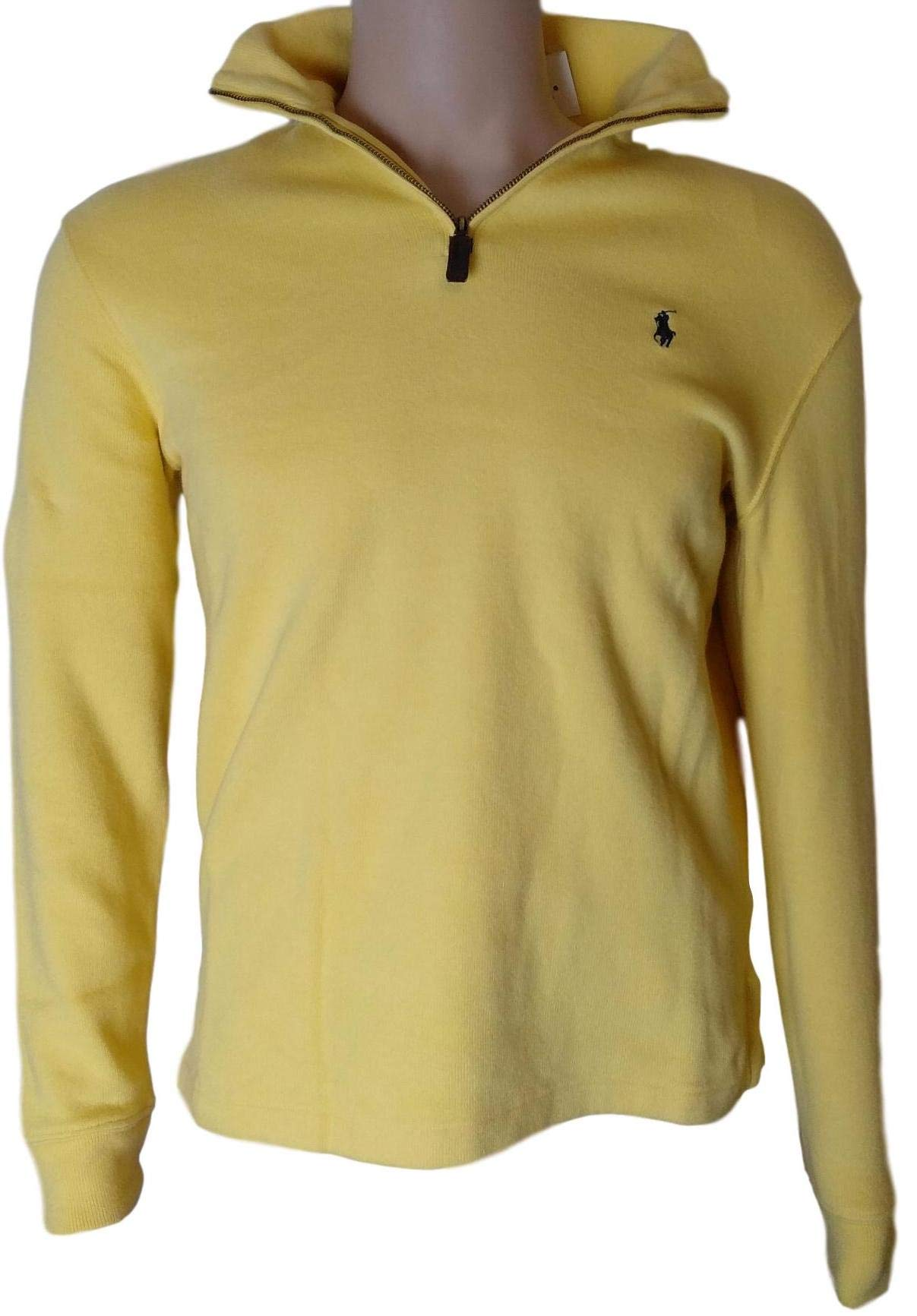 162e5f983a53 Galleon - Polo Ralph Lauren Men Half Zip French Rib Cotton Sweater ...