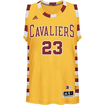 LeBron James Cleveland Cavaliers Hardwood Classics Adidas Swingman Jersey  (S) ed0710a41