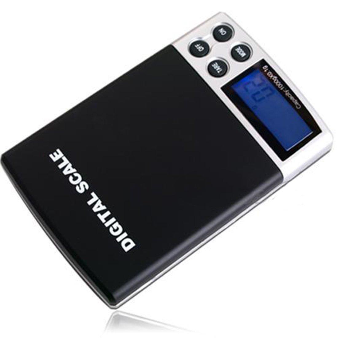 1000 g/0.1 g Mini precisión LCD electrónicos bolsillos Digital escalas Indicadores beweglicher joyas asunto gramos Multipurpose Escalas: Amazon.es: Hogar