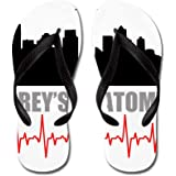 CafePress Grey's Anatomy Seatle Flip Flops, Funny Thong Sandals, Beach Sandals