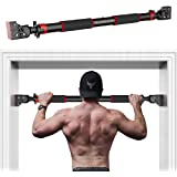 HANDSONIC Pull Up Bar for Doorway, No Screws Required Chin Up Bar Adjustable Dip Bars for Home Gym Exercise Fitness Up to 440