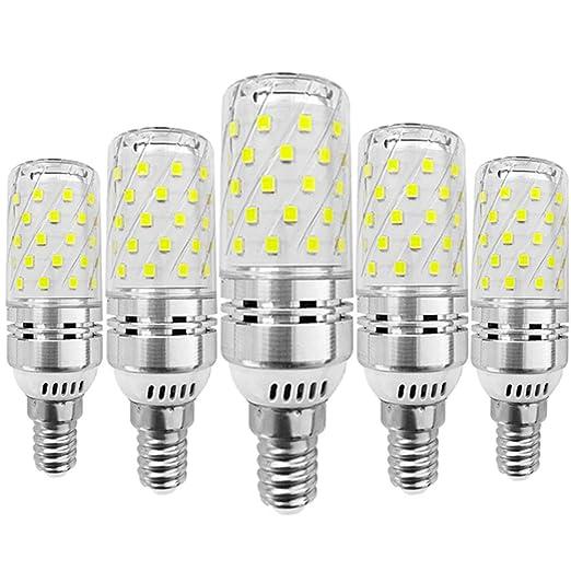 KitaBulb - Bombillas LED de maíz (5 unidades, rosca Edison E14, 12 W