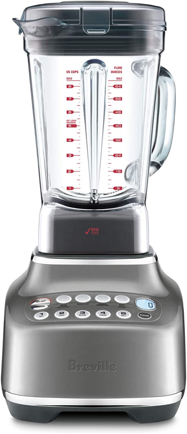 Breville The Q 68 Ounce Blender - Smoked Hickory