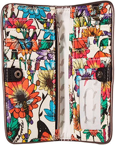 Sakroots Slim Wallet, Optic in Bloom by Sakroots (Image #4)