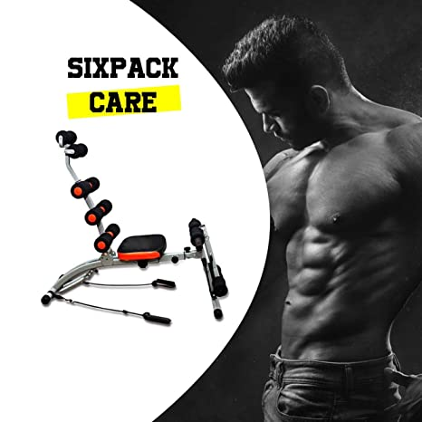 CloverFitness Sixpack Care Banco Fitness para Abdominales, con ...