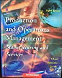 Production and Operations Management 9780256269215
