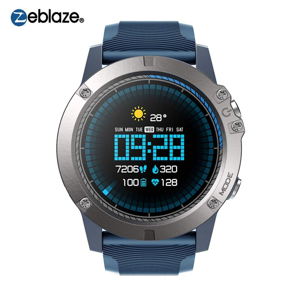 Quiet.T Zeblaze Vibe 3 Pro Smart Watch Redondo GREENCELL Heart Rate Monitor Pulsera Reloj Hombre Mujer Impermeable IP67 Pulsera Actividad Inteligente ...