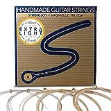 #10: Stringjoy NB1050 Handmade Natural Bronze Acoustic Guitar Strings, (Extra Light Gauge - 10-50)
