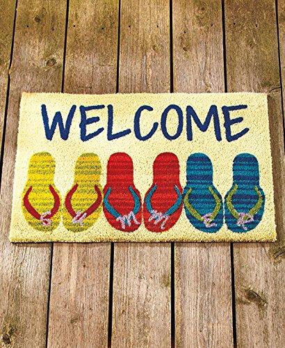 Flip-Flops-Themed-Coir-Doormats