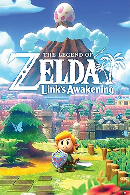 Todo para el streamer: Pyramid International Póster The Legend of Zelda Links Awakening, 5 cm, Multicolor, 61x91, 5cm