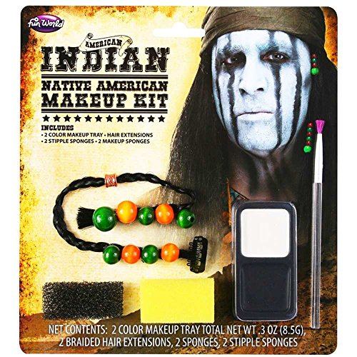 Native American Indian Face Paint Makeup Kit