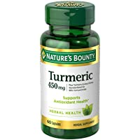 Nature's Bounty Turmeric Curcumin Caps, 60 ct, Green (15417)