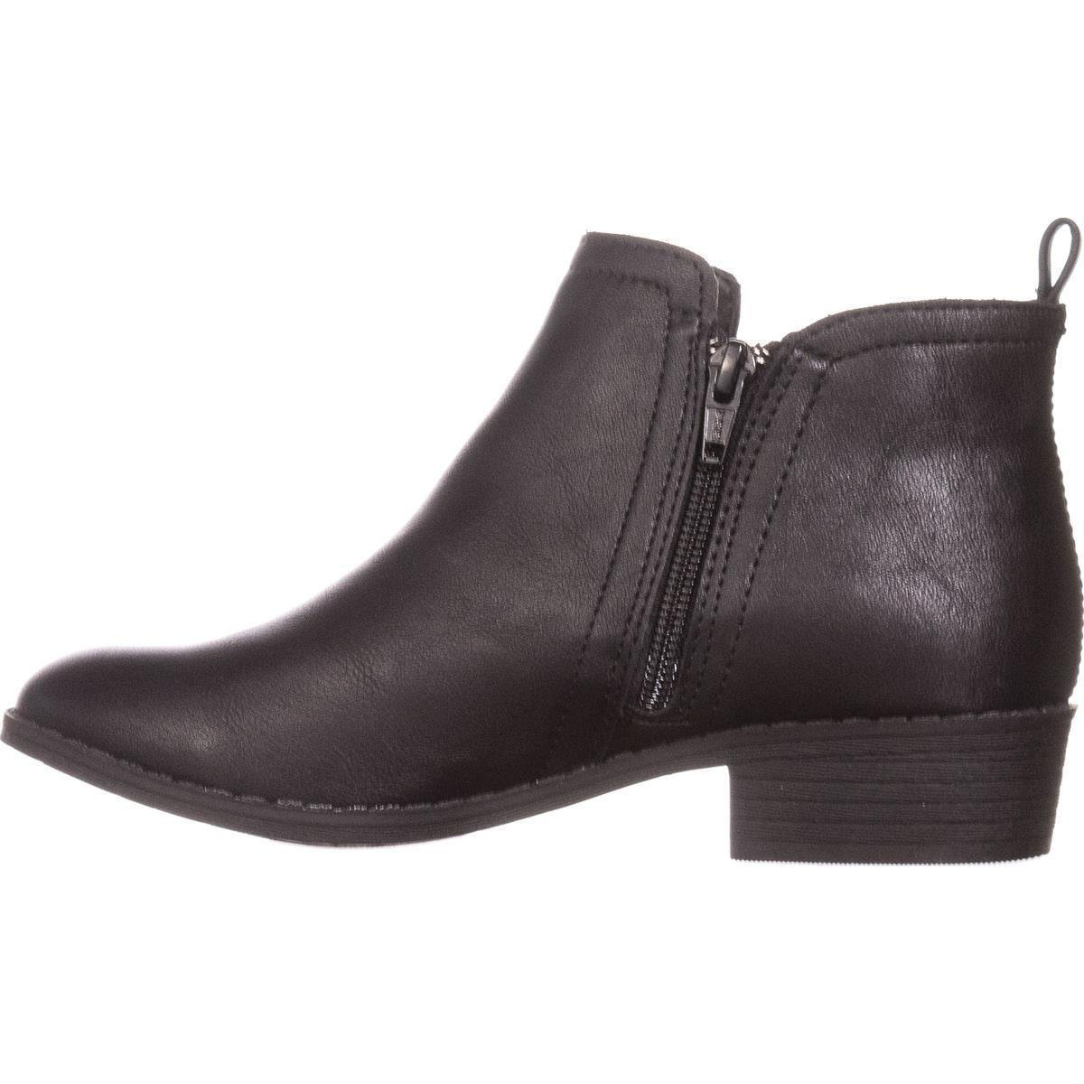 American Rag Womens Cadee Faux Leather Ankle Booties