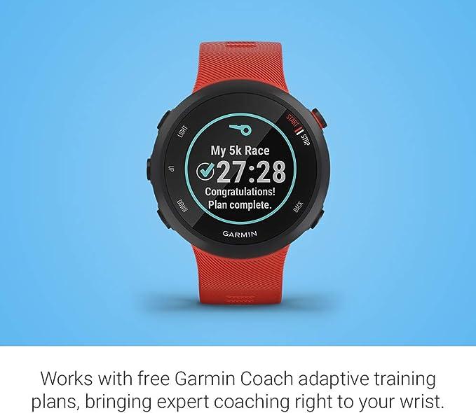 Garmin Forerunner 45/G - Reloj Multisport con GPS, Tecnología ...