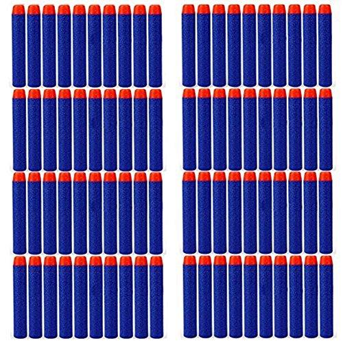 JUYOU Nerf Compatible Bullets Darts Hard Tip for Elite N Strike Refill SeriesPack of 1000