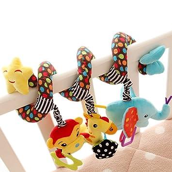 Cherry Bebés Colgantes Happy Con Juguetes Para Cochecito Niños Niñas Animales Cuna Sonidos Pw0nOk