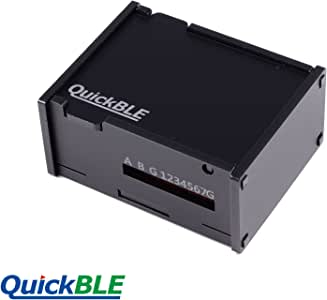 QuickBLE DIY Automation Controller with Eight Sensors (Temperature, Humidity, Ranging, Illuminometer, PIR, Reflective, Soil Moisture, Clap Sensor), Relays and USB Power Outputs