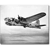 B-17 / B-17F Flying Fortress Bomber WWII 11x14 Silver Halide Photo Print