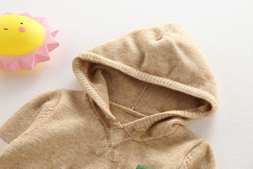 Baby boy//Toddler Moonnut Little Boys Girls Crewneck Striped Pullover Sweater