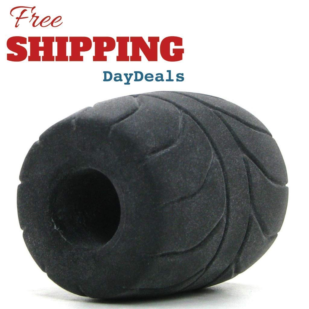 DayDeals Male 2 Inches Soft and Stretchy Silicone Stretcher Enhancer Ring