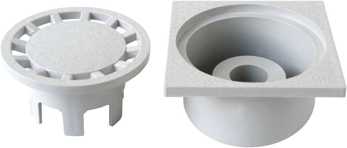 First Plast chpvc15g-y /égout sifonato en PVC gris 150/x 150/mm