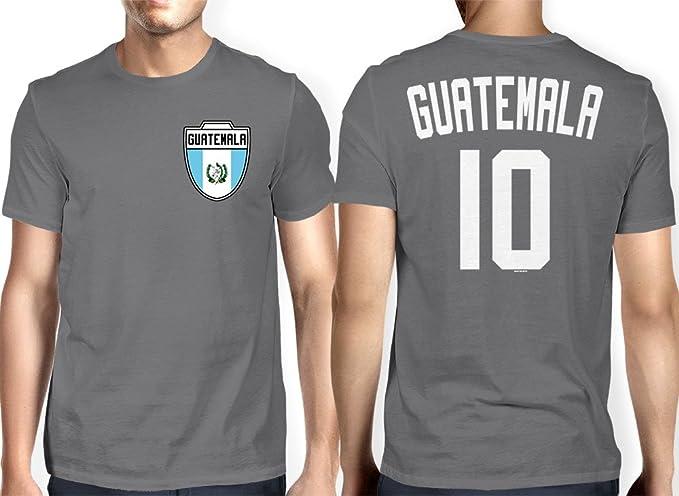 HAASE UNLIMITED para Hombre Guatemala guatemalteca – Fútbol, Fútbol Camiseta - Gris -