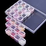 SGHUO 6 Pack 28 Grids Diamond Painting Boxes