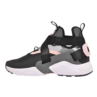 best service 935c4 6ad87 Amazon.com   Nike Women s Air Huarache City, Black Dark Grey-Storm Pink, 8  M US   Running