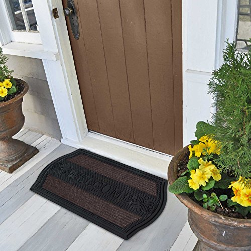"""FH Group Welcome Mat DM013 Utility Mat Great for Garage or Front Door 18"""" x 30"""""""
