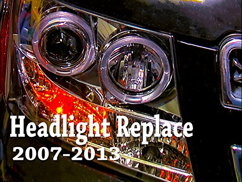 2007-2013 GM Truck headtlight replace