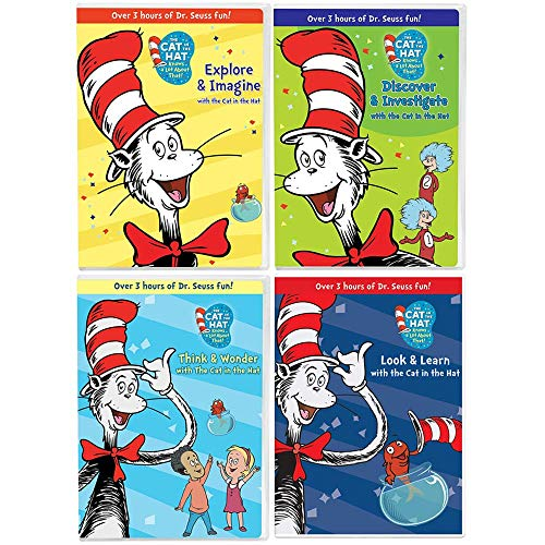 The Cat in the Hat Knows a Lot About That!: TV Series Complete Season 1 DVD Collection - 80 Episodes!