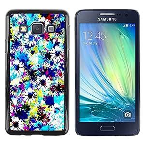 Be Good Phone Accessory // Dura Cáscara cubierta Protectora Caso Carcasa Funda de Protección para Samsung Galaxy A3 SM-A300 // Fabric Field Sky Painting