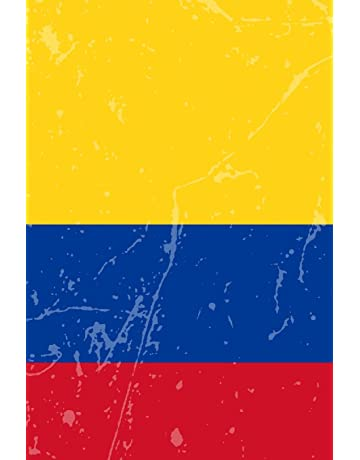 Colombia Flag Journal: Colombia Travel Diary, Colombian Souvenir, lined Journal to write in