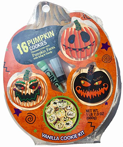 Halloween Pumpkin Decorate Your Own Cookie -
