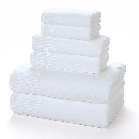 DESUN 100% toallas de baño de algodón baño de lujo conjuntos de toallas de mano
