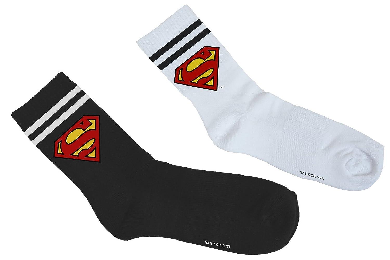 MERCHCODE Merch Código Superman Double Pack Calcetines: Amazon.es: Deportes y aire libre