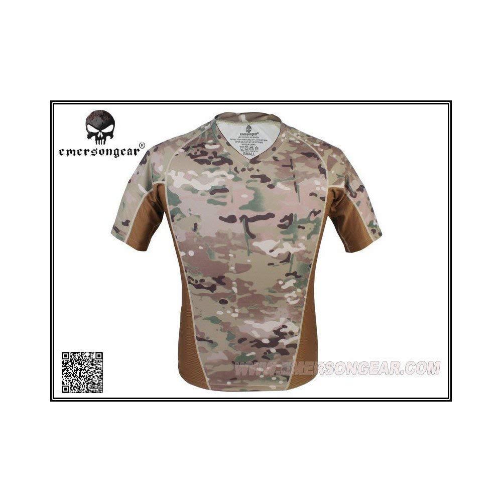 Emerson Camiseta Camo FastDry Multicam XL: Amazon.es: Deportes y ...