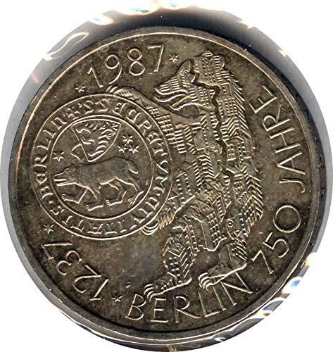 - 1987 DE DEUTSCHE MARK 10 DM UNC.
