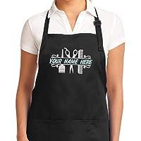 Hair stylist apron embroidered, Hair dresser smock, Hairdresser apron, Hair salon apron, Hair stylist gift, gift for hair stylist | Hair dresser gift, Hair dresser Apron for Women and Men - Unisex