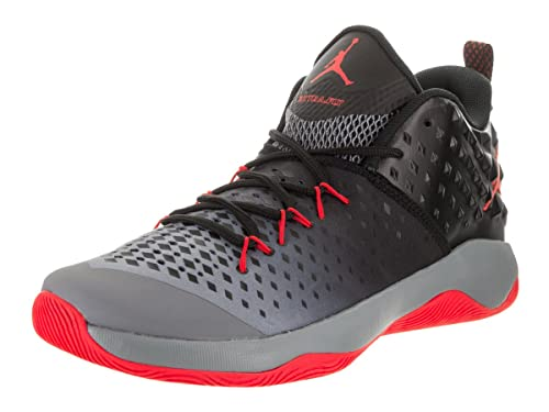 b5a8e953ea22 Nike Jordan Men s Jordan Extra Fly Cool Grey Max Orange Black Basketball  Shoe 13