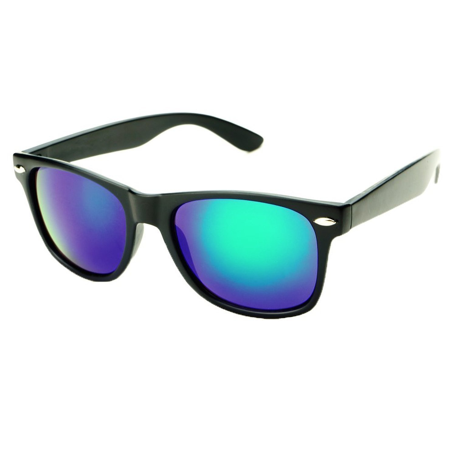 MLC Elements of Gaia Collection Unisex UV400 Horn Rimmed Frame Sunglasses Carbone Nero-Wind