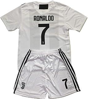 ... ireland ngnwear ronaldo 7 juventus 2018 2019 youths home soccer jersey  shorts kit 45c4d a09e2 a7041d93c