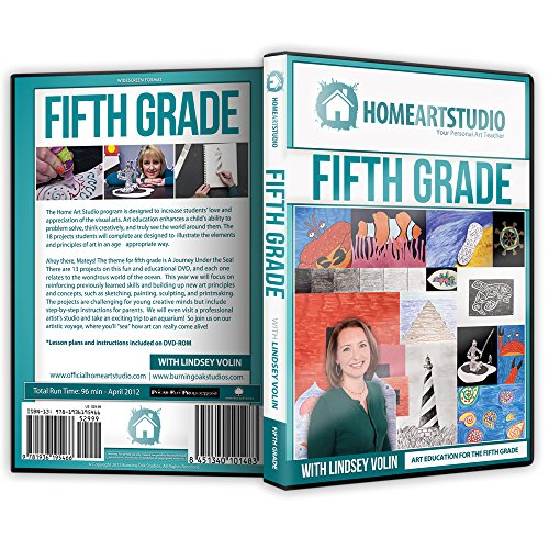 Home School Art Studio Program DVD with Lindsey Volin 5th