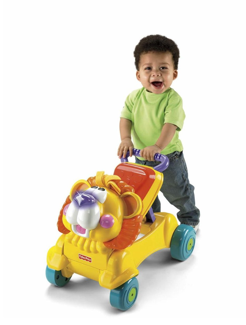 Amazon.com: Fisher-Price stride-to-ride Lion: Toys & Games