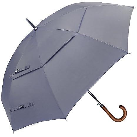 Paraguas Cl¨¢sico G4Free, Tama?o Grande de 1,27 m