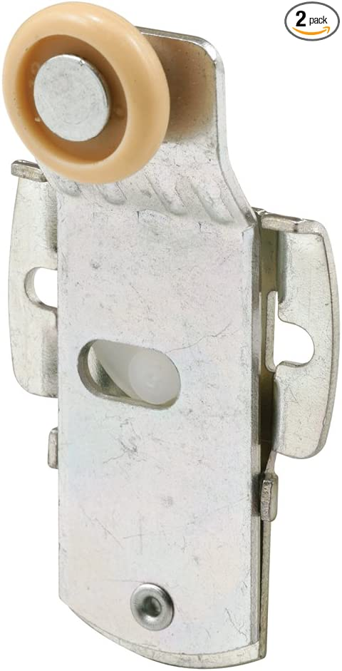 Pack of 2 7//8-Inch Nylon Wheel, Front 1//8-Inch Offset Slide-Co 161371 Closet Door Roller